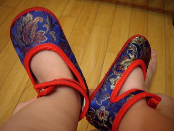 外婆買的小鞋