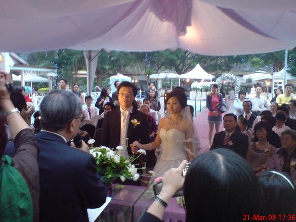 James的池畔婚禮