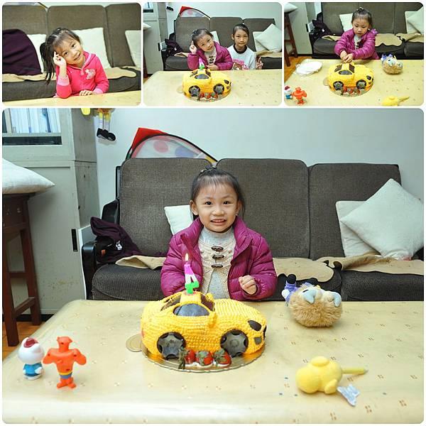 蔡小妹4歲囉