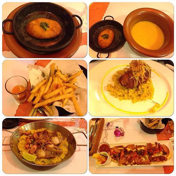 La Paella菜色