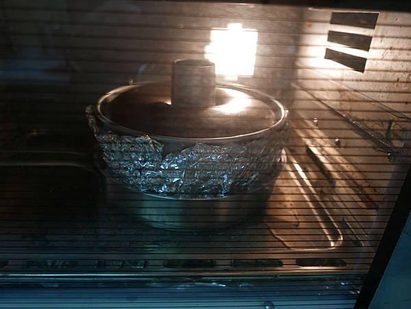 巧克力綿花蛋糕之水浴法 20160808