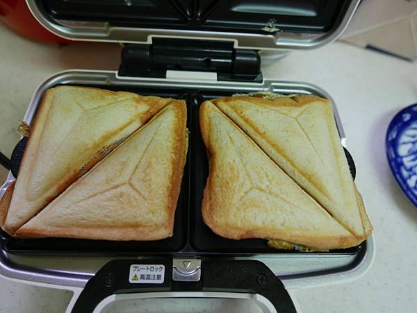 第一次做的三明治