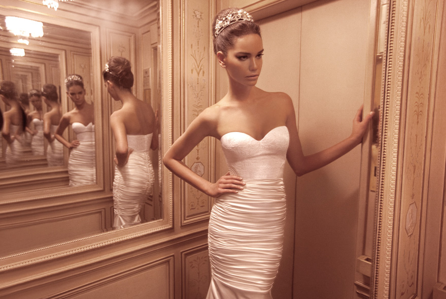 Inbal Dror 2012 summer wedding dresses 6