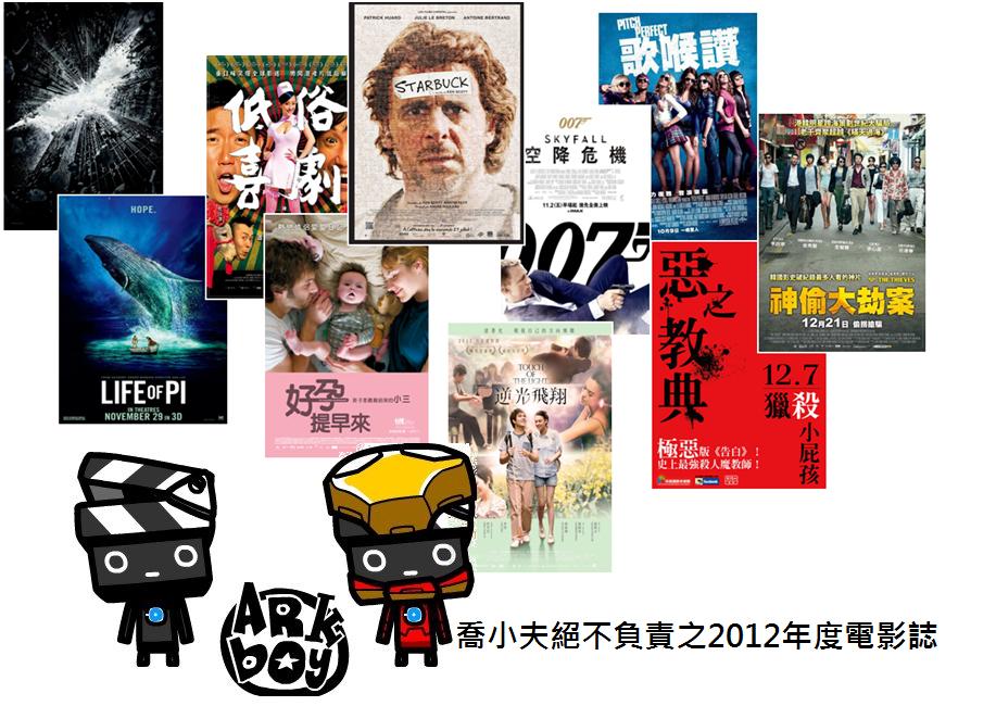 喬小夫2012年度電影誌