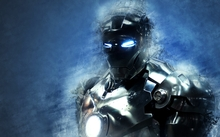 iron man marvel comics blue background 1680x1050 wallpaper_www.wallpaperhi.com_34