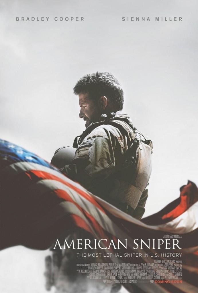 美國狙擊手 海報