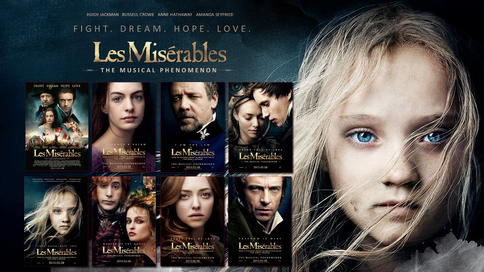 Les Misérables 演員表