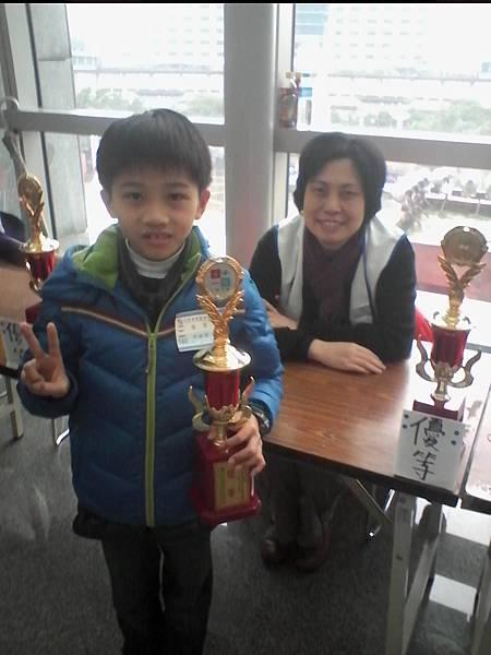 第13屆國際盃數學競賽_優等獎_哲哲_今年我也到現場領獎啦.jpg