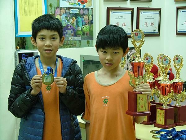 第13屆國際盃數學競賽_優等獎_甲等獎_我們是恩竣雙雄.JPG