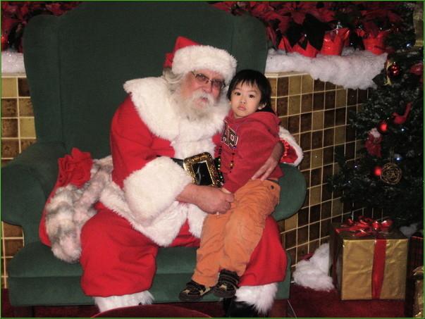 小涼和Santa