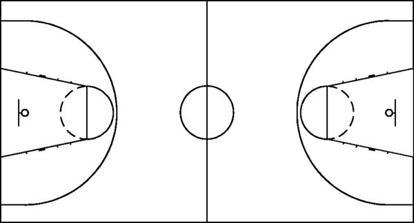 籃球球場全場圖