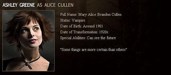 Twilight - Alice