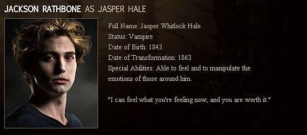 Twilight - Jasper