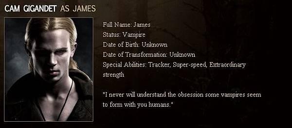 Twilight - James