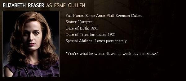 Twilight - Esme