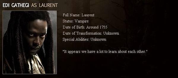 Twilight - Laurent