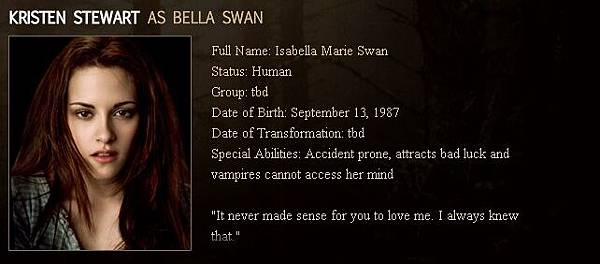 The Twilight Saga : New Moon - Bella