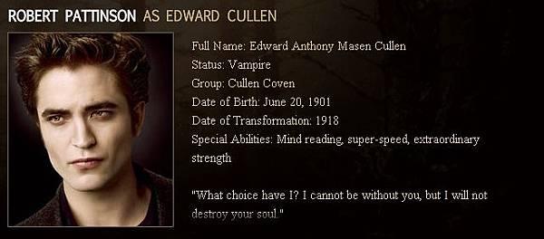 The Twilight Saga : New Moon - Edward