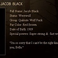 The Twilight Saga : New Moon - Jacob