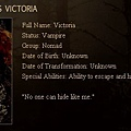 The Twilight Saga : New Moon - Victoria