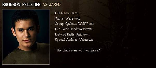 The Twilight Saga : New Moon - Jared