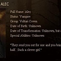 The Twilight Saga : New Moon - Alec