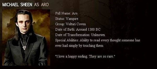 The Twilight Saga : New Moon - Aro