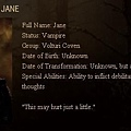 The Twilight Saga : New Moon - Jane