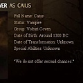 The Twilight Saga : New Moon - Caius