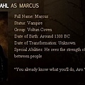 The Twilight Saga : New Moon - Marcus