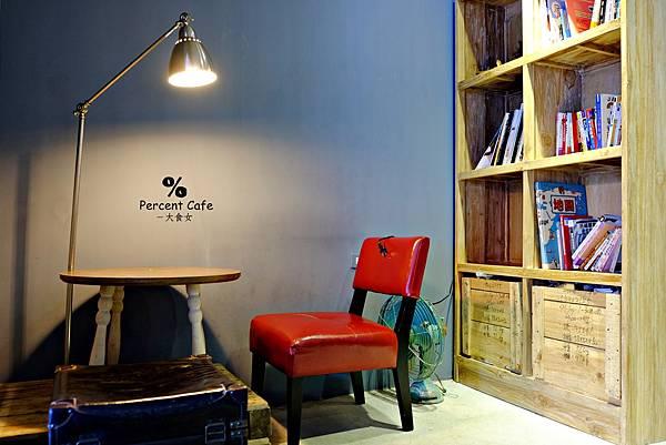 板橋美食早午餐-percent cafe