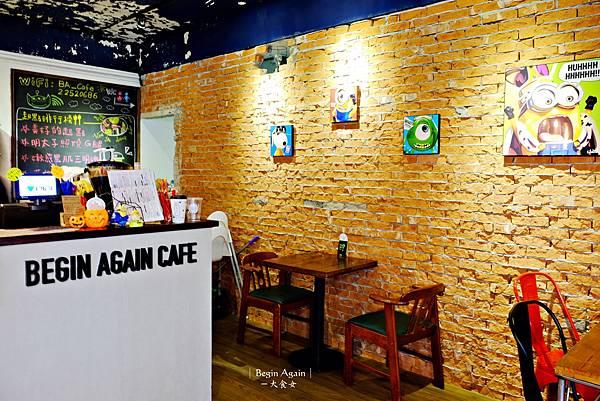 板橋美食早午餐-begin again起點咖啡