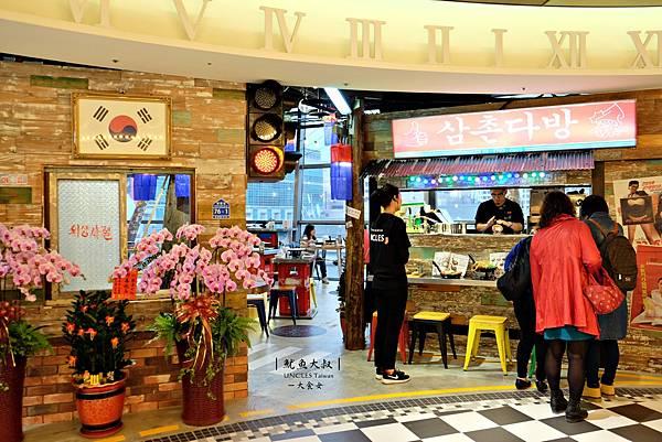 信義區美食韓式料理-魷魚大叔馬車店