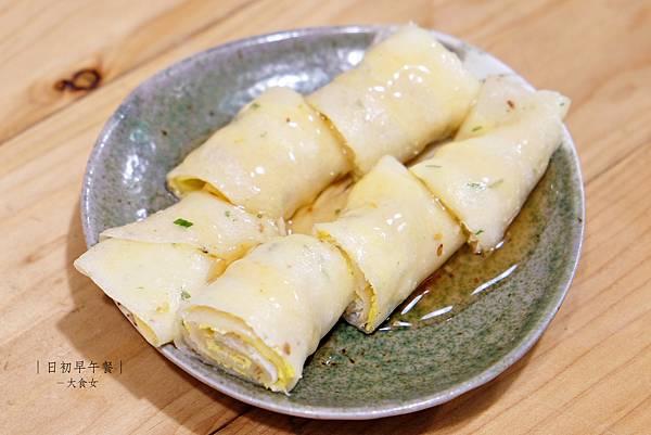 中永和美食早午餐-日初早午餐