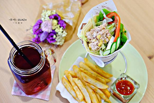 板橋美食早午餐-嘣啾xGAUZA