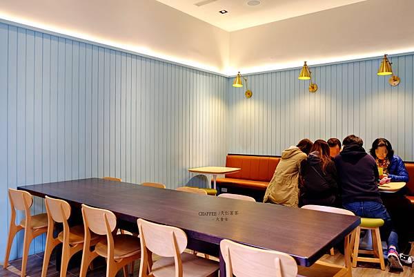 大安站美食咖啡廳-CHAFFEE
