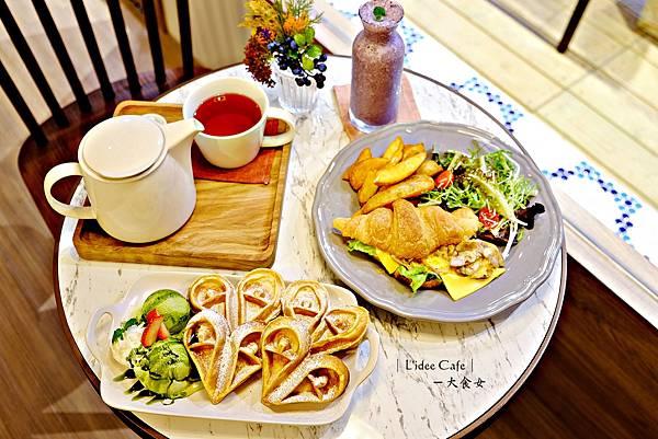 板橋美食早午餐-樂點咖啡L'idée Café