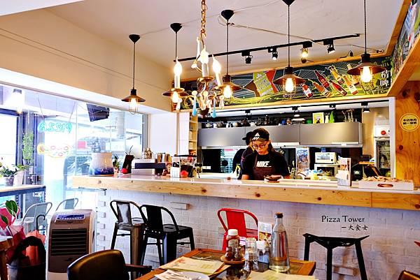 新店美食-披萨斜塔