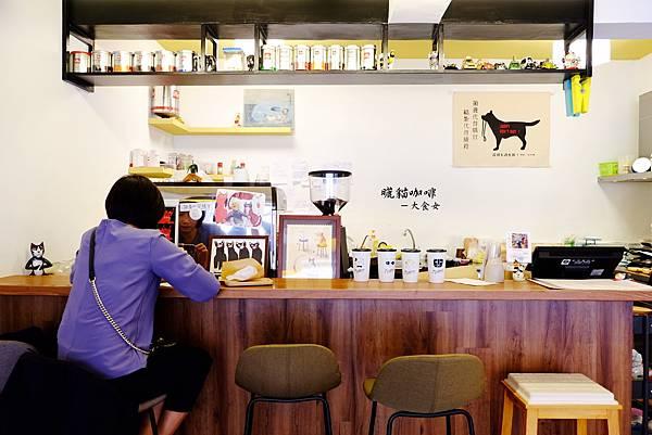 科技大樓站美食-曬貓咖啡