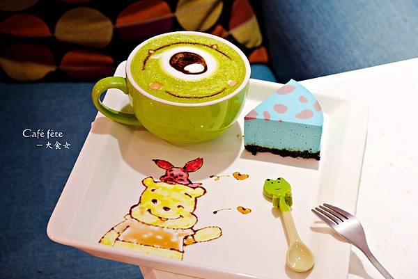 東區美食咖啡廳-咖啡宴圖角獸