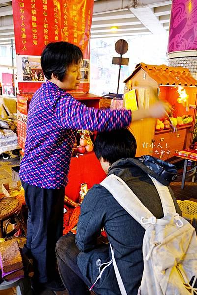 香港旅遊-銅鑼灣鵝頸橋打小人
