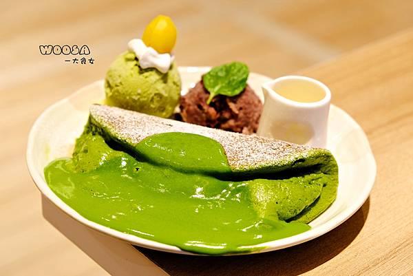 台北車站美食-Woosa屋莎鬆餅屋