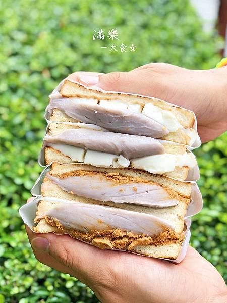善導寺美食-滿樂鐵板吐司