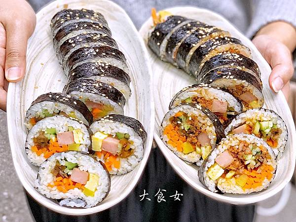 台北美食 咪咪紫菜捲 西門町美食
