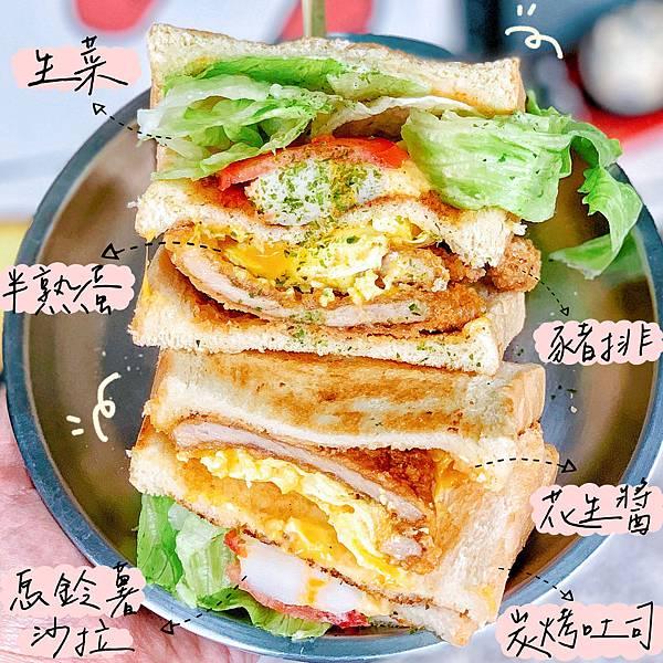 台北美食 老鐵們炭火三明治 信義安和美食