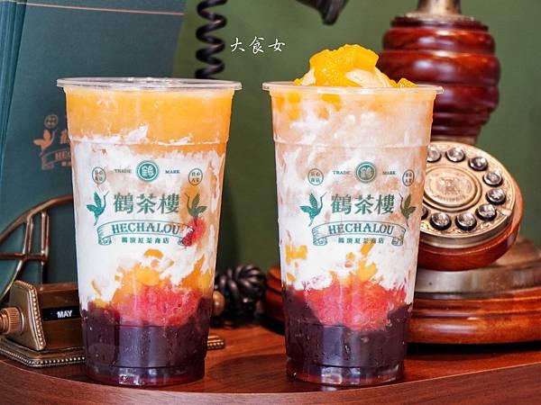 台北美食 鶴茶樓 台北飲料外送 台北東區美食