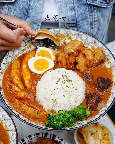 台北美食 Curry On 咖哩專賣店 南京三民美食 民生社區美食 台北咖哩 台北午餐外送