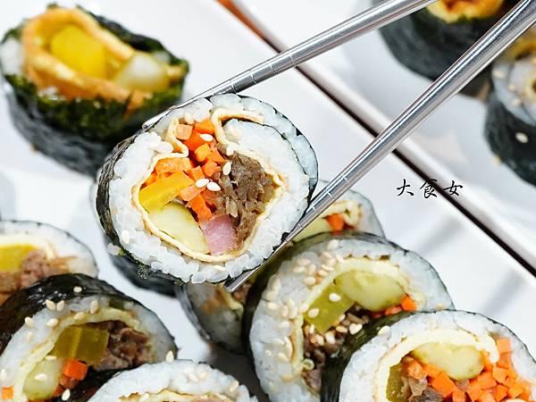 台北美食 Gimbap韓式飯捲 行天宮美食 台北韓式料理 台北韓國料理 台北飯捲
