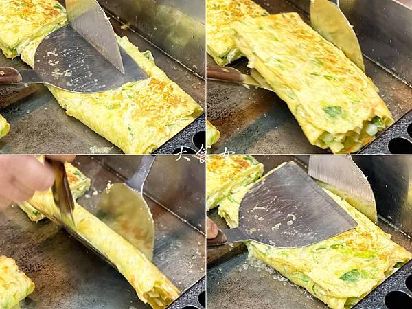 台北美食 蔬菜黃金蛋捲 台北宵夜 三重美食 三和夜市美食 三和夜市必吃 三重宵夜 台北蛋餅