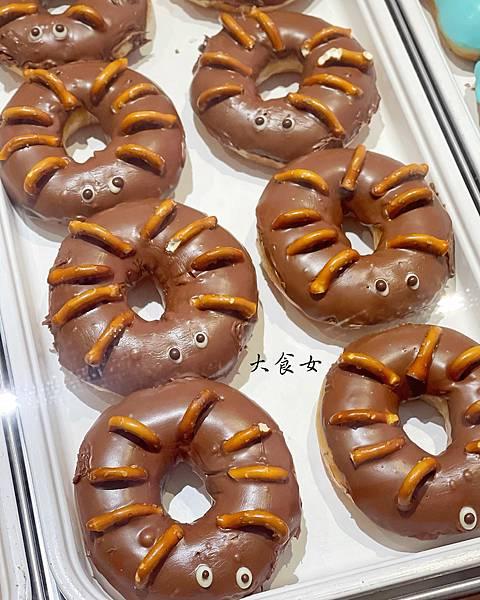 Krispy Kreme 萬聖節甜甜圈 台北美食 台北甜點 台北下午茶 台北外送美食 信義區美食 板橋美食 內湖美食 台北下午茶外送 台北美食外送